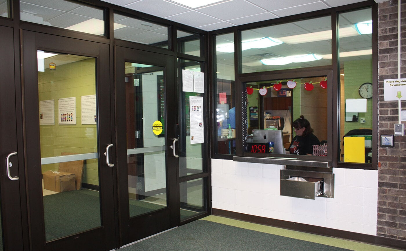JCPS Elementary Secure Vestibules
