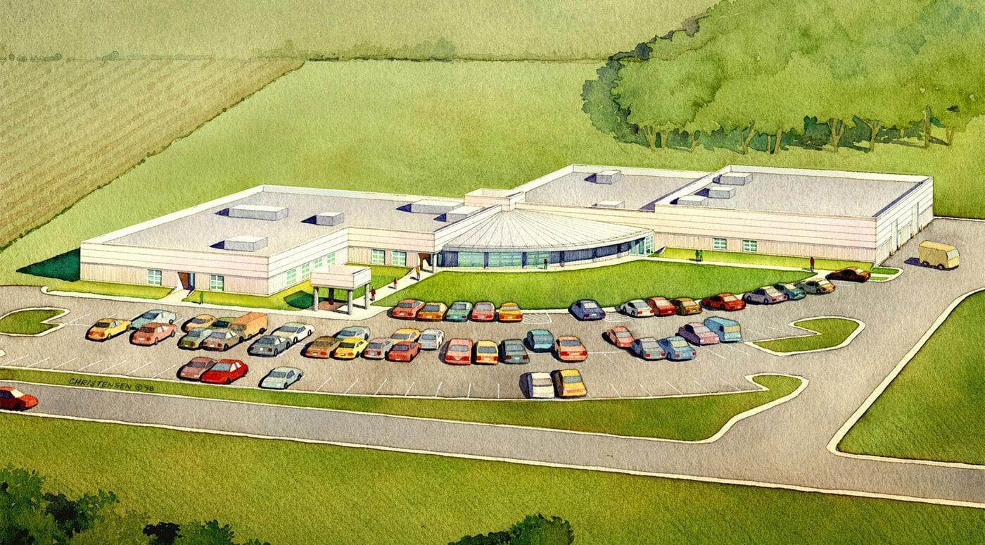 Advanced Technology Center Rendering