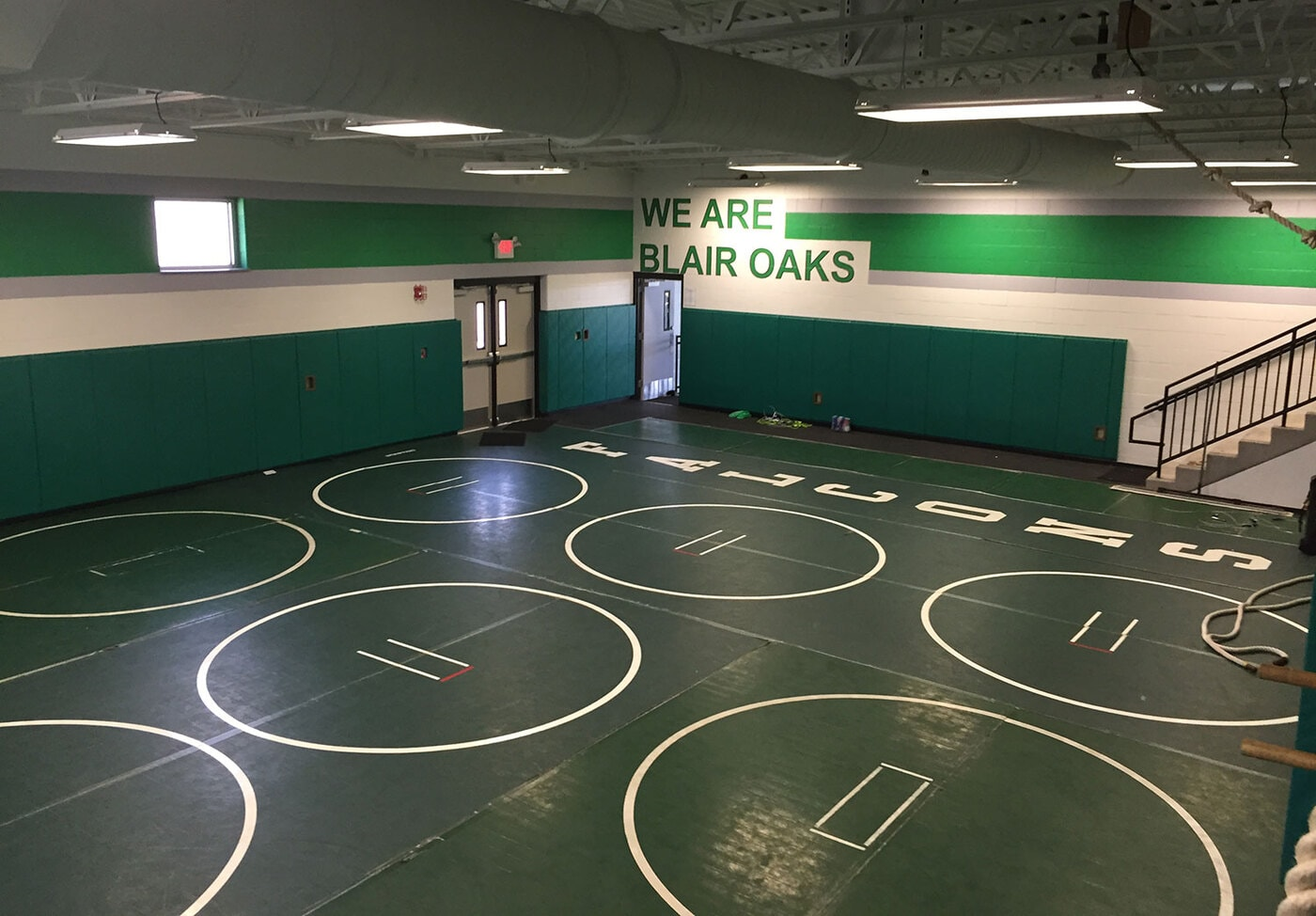 Blair Oaks Wrestling and Weight Room