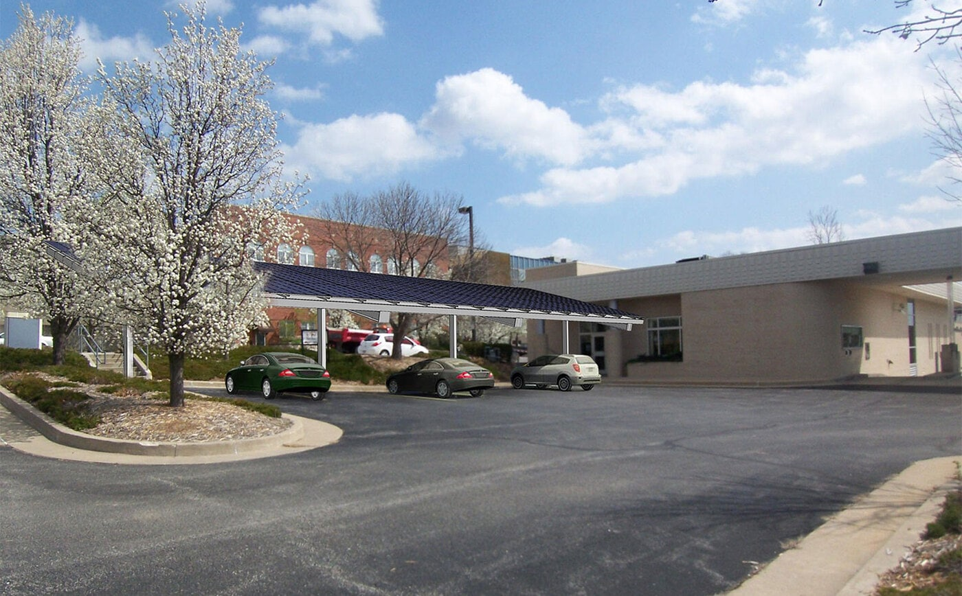 Home Savings Bank Solar Carport